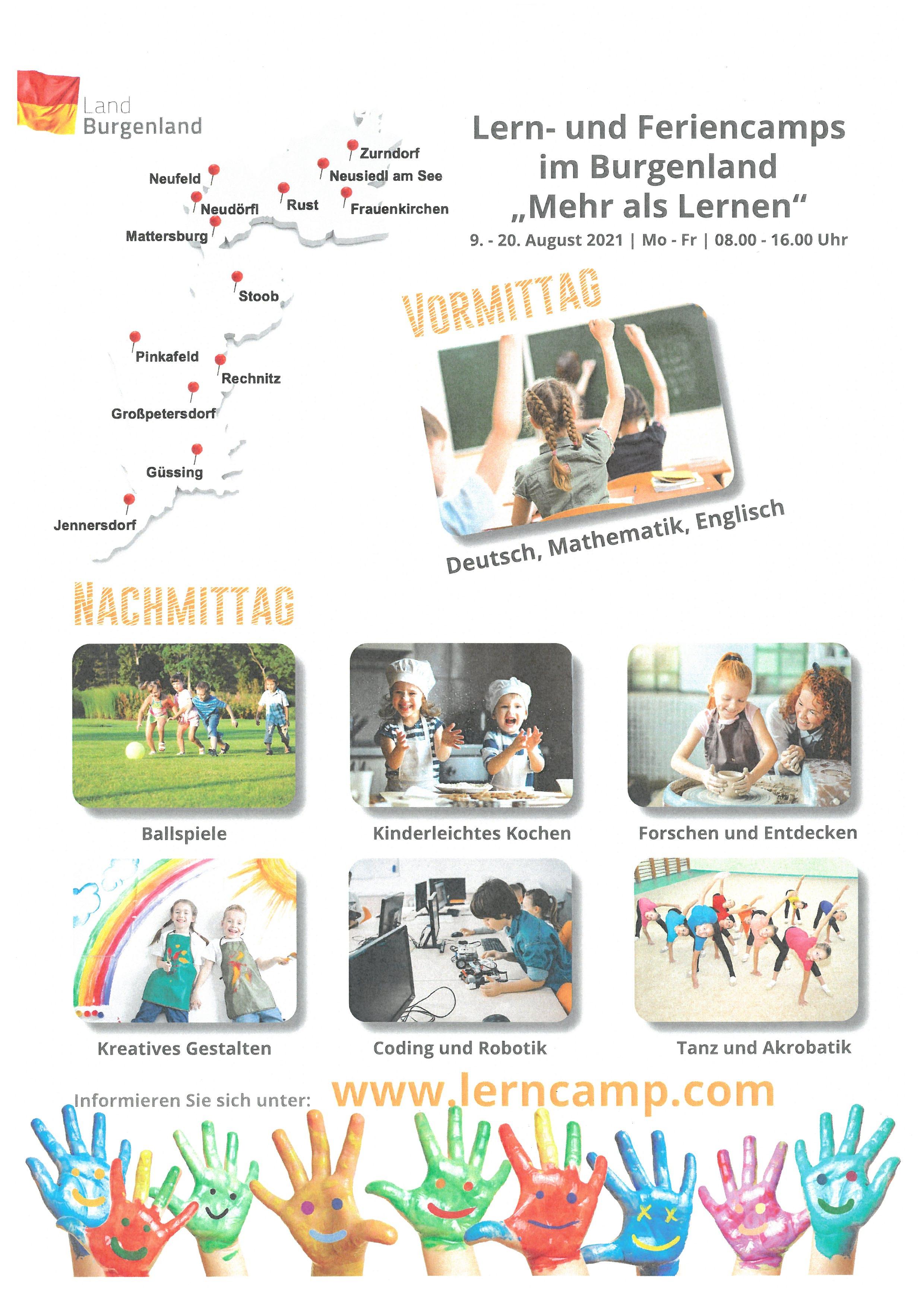 Flyer Feriencamp