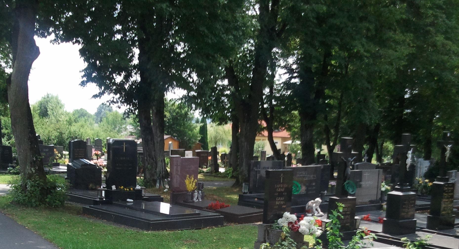 Gräber in Großpetersdorf