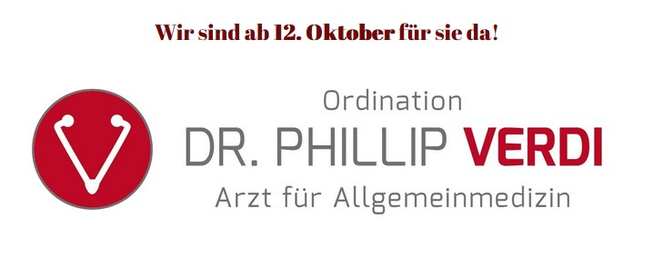 Logo Ordination Dr. Phillip Verdi