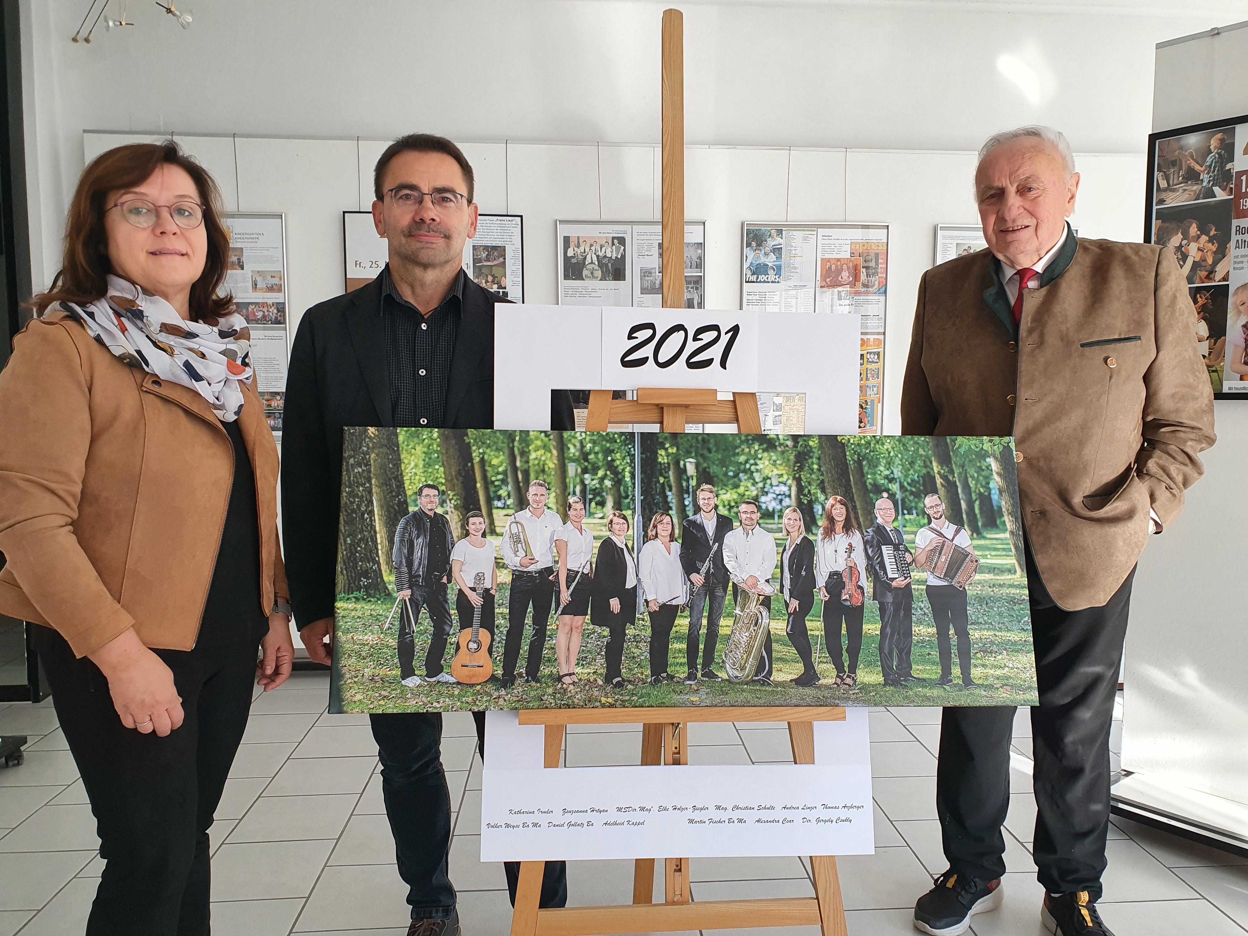 Bild der Organisatoren zur Ausstellung zVb von Christian Schulte