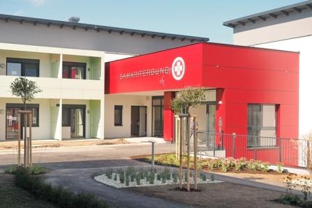 Eingang zum Pflegekompetenzzentrum